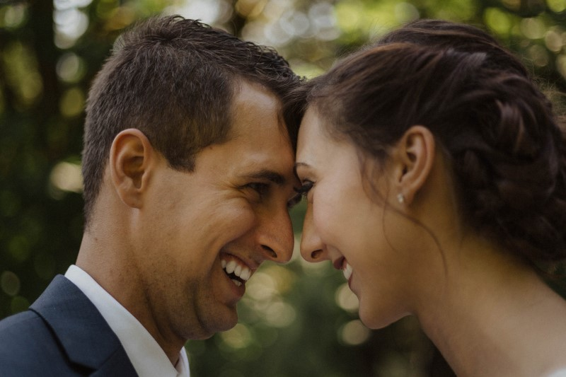 Newlyweds Captured by Kacie McColm Photography