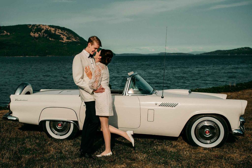 Vintage Inspired Vancouver Island Wedding