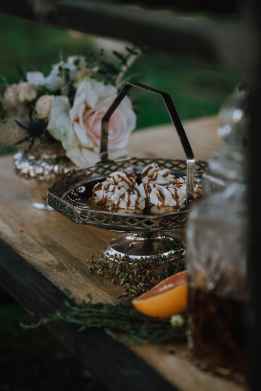 Vancouver Island Wedding Dessert Table Planned by Borrowed and Blue Events