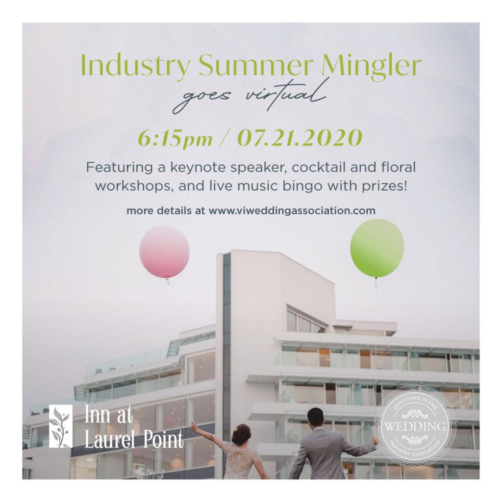 vancouver island wedding industry summer mingle