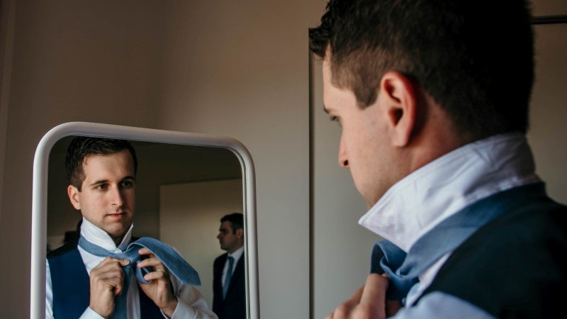 Vancouver Island Groom Photographed by Kacie McColm Photography