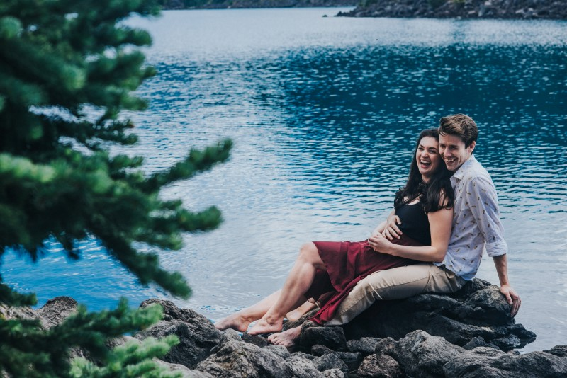 Couple in Love by Little Mohr Photography