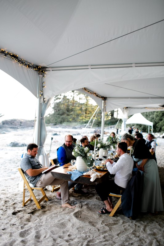 Rainforest Vows at Wickaninnish Inn Vancouver Island