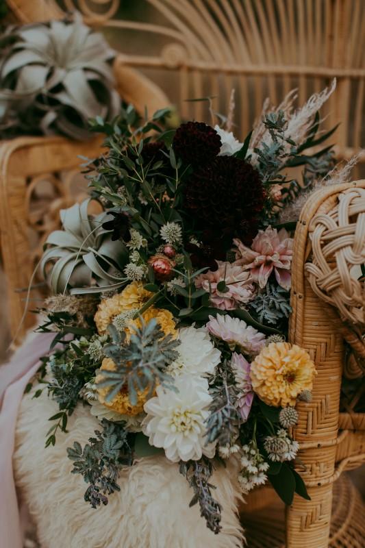 Vancouver Island Stylish Southwest Wedding Florals by Lauren Riley Designs
