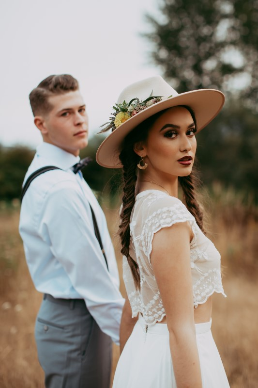 Stylish Southwest Bridal Makeup by BrightFX