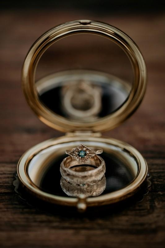 West Coast Wedding Rings by Emma Glover Design