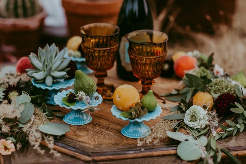 Stylish Southwest Wedding Table Decor by Party Mood