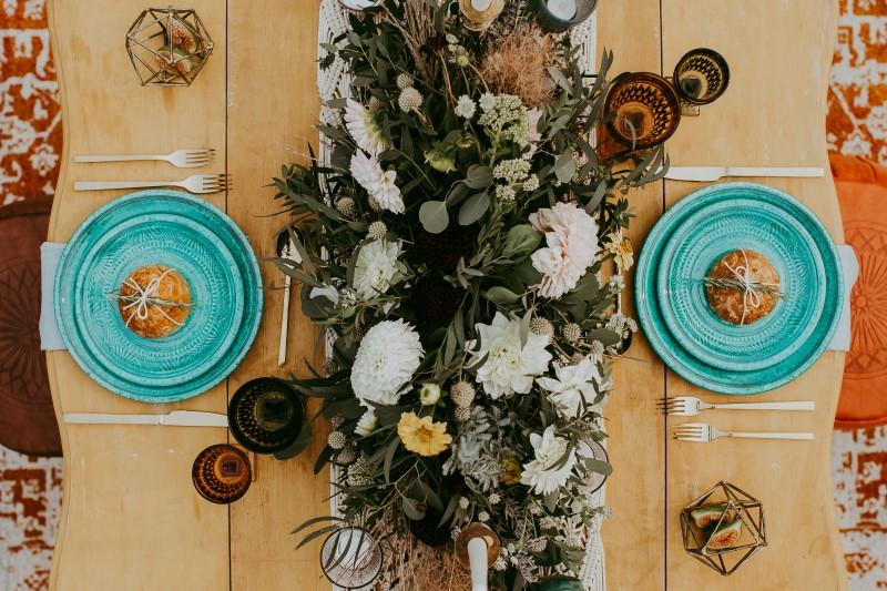 Southwest Reception Florals by Lauren Riley Designs