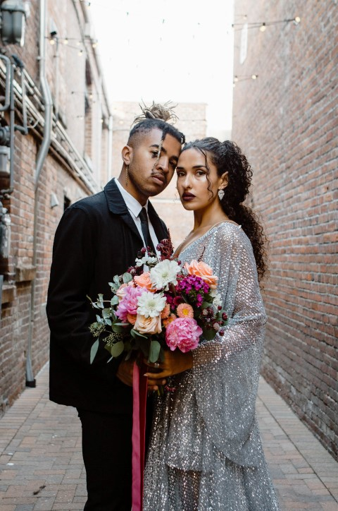 Urban Elopement at Fort Common Photographed by Chiara Sparanese Photography