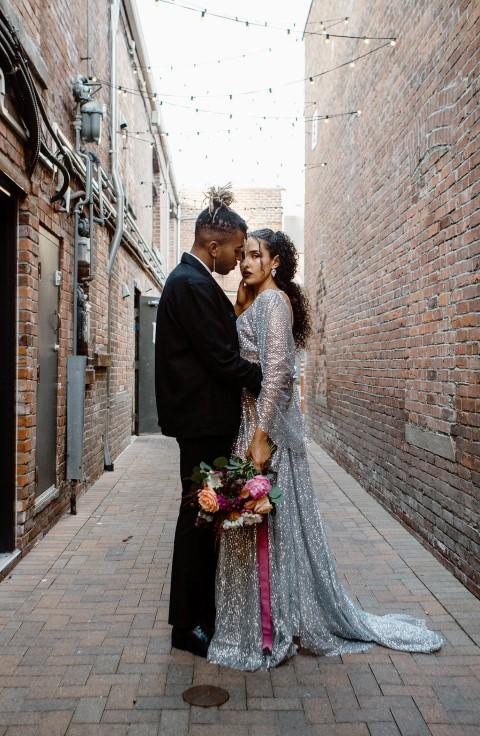 Elopement Bride and Groom West Coast Weddings
