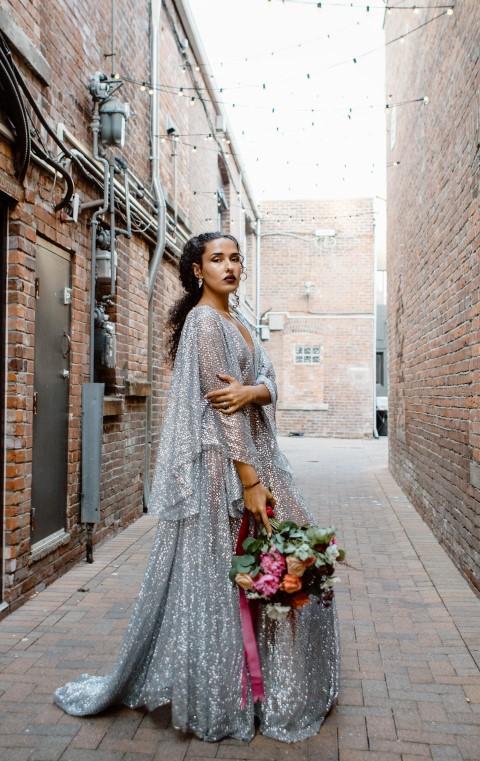 Urban Bride With Florals by En Vied Events Victoria BC