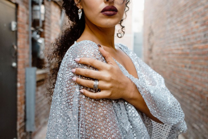Urban Elopement Bride's Jewellery by Fan Tan Home and Style