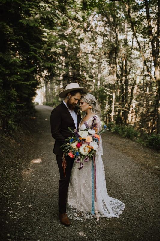 West Coast a Romantic Lace Dress by Lily Kennedy Custom Bridal