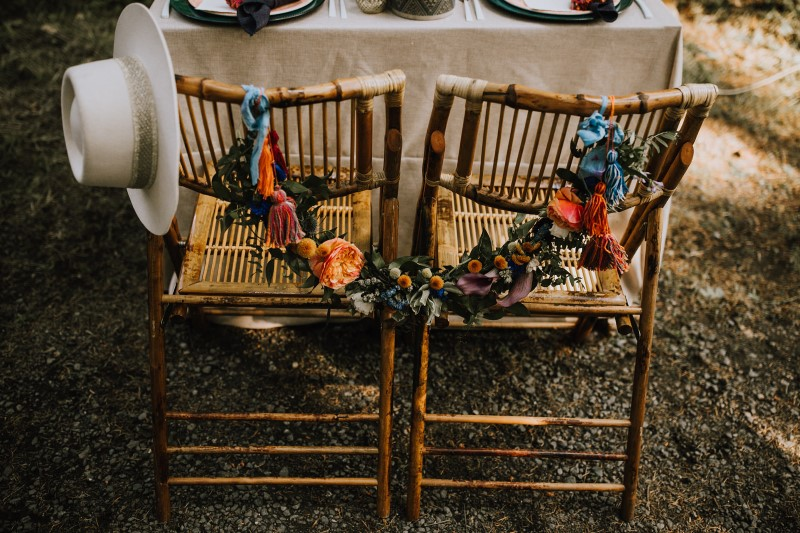 Love and Llama Wedding Planned by Borrowed and Blue Events