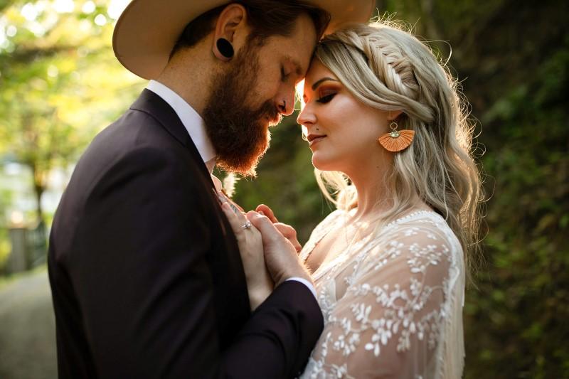 Love and Llama Wedding Bridal Hair by Salon Muse