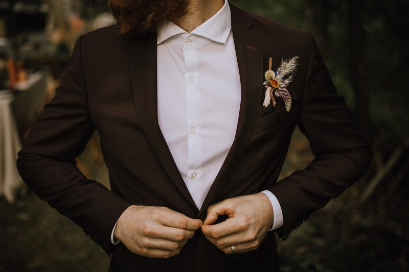 West Coast Weddings Love and Llama Grooms Attire by Outlooks For Men