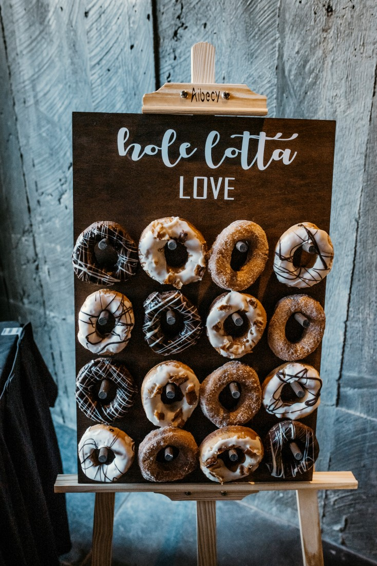 Donut Wall with Hole Lotta Donuts by Rhino Tofino