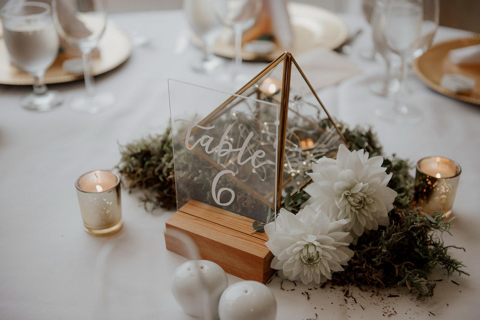 Reception Decor by Elle Weddings Vancouver