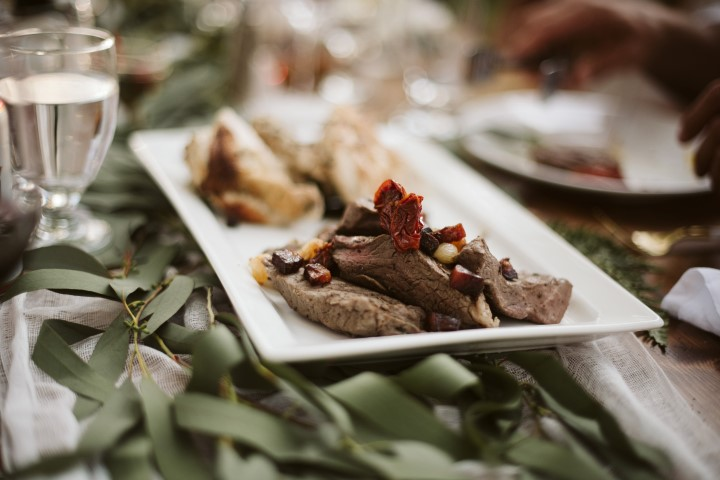A forest Wedding Vision Artfully Catered by Truffles Catering Vancouver Island