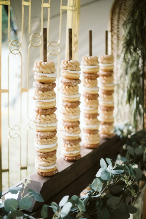 Wedding Doughnuts on a Stick by Truffles Catering Vancouver Island