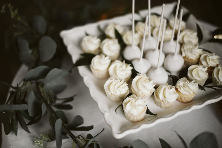 Truffles Catering sweets at wedding reception
