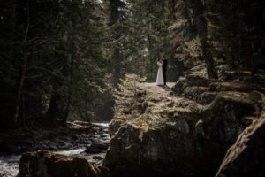 Stone Circle Wedding at Whistler by Emily Serrell PHotography
