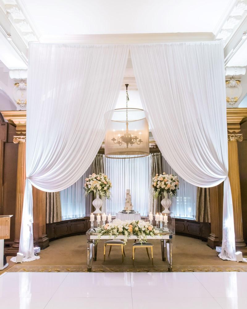 Persian Wedding Design at Vancouver Club by Fleur de Lis Events