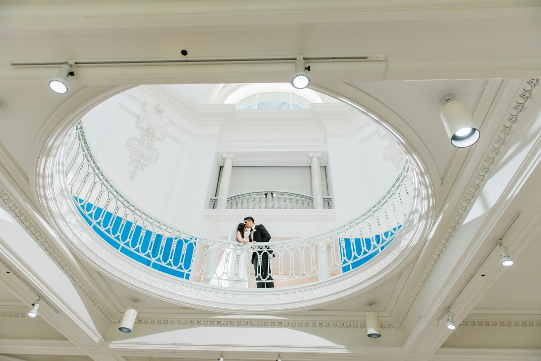 Vancouver Club Art Gallery Wedding by L'estelle Photography