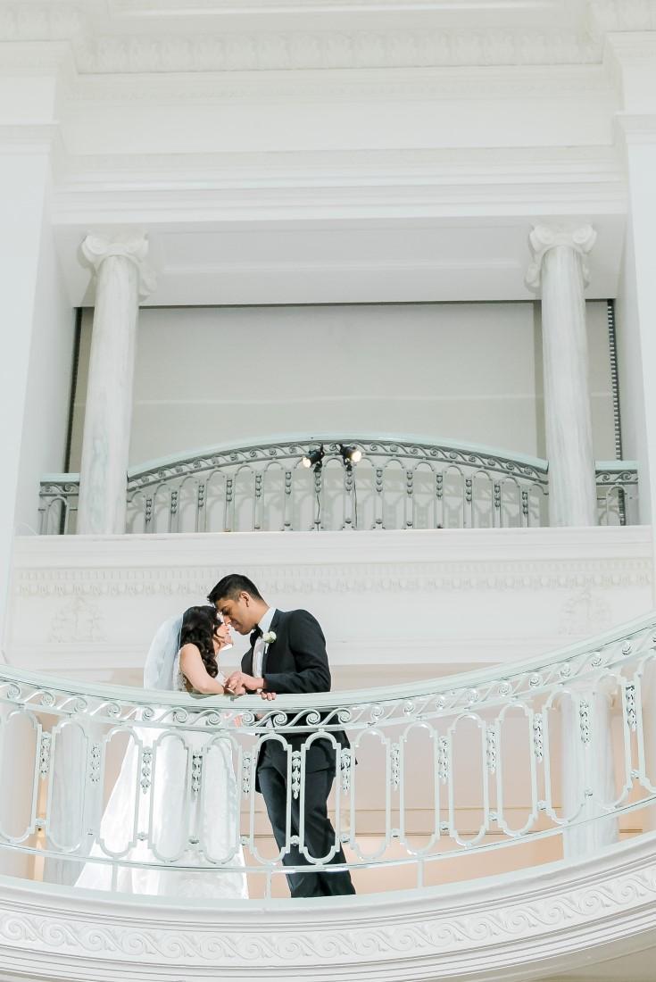 Vancouver Club Wedding Art Gallery