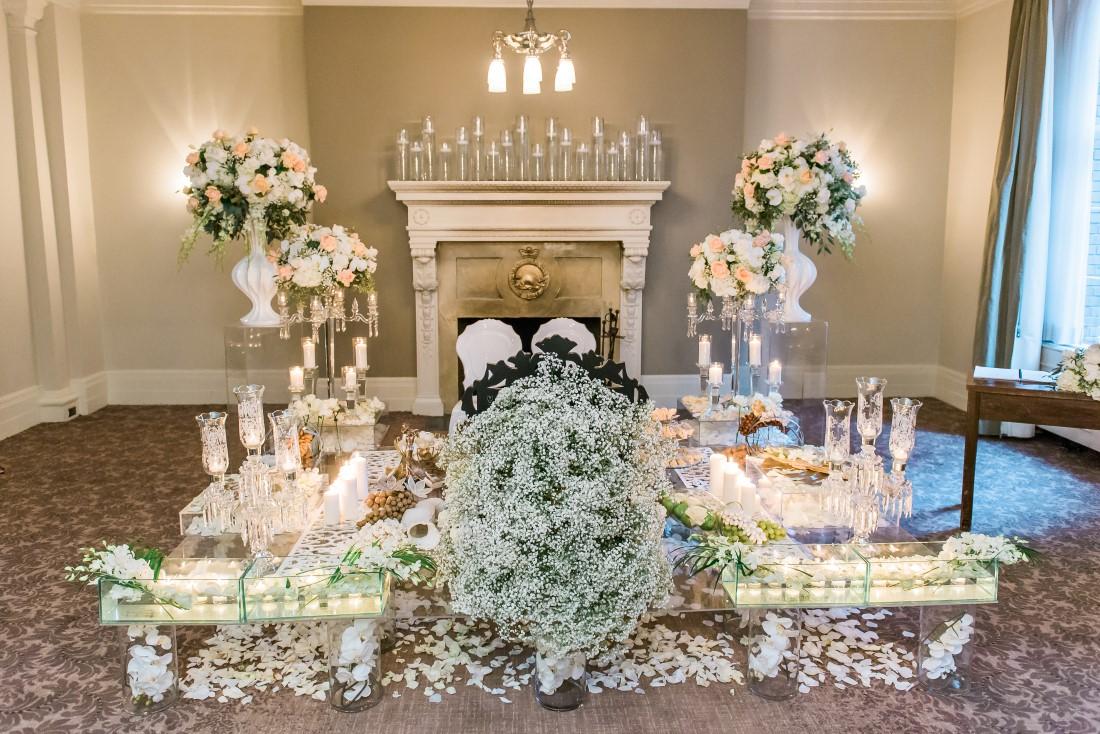 Vancouver Club Persion Wedding by Fleur de Lis Events