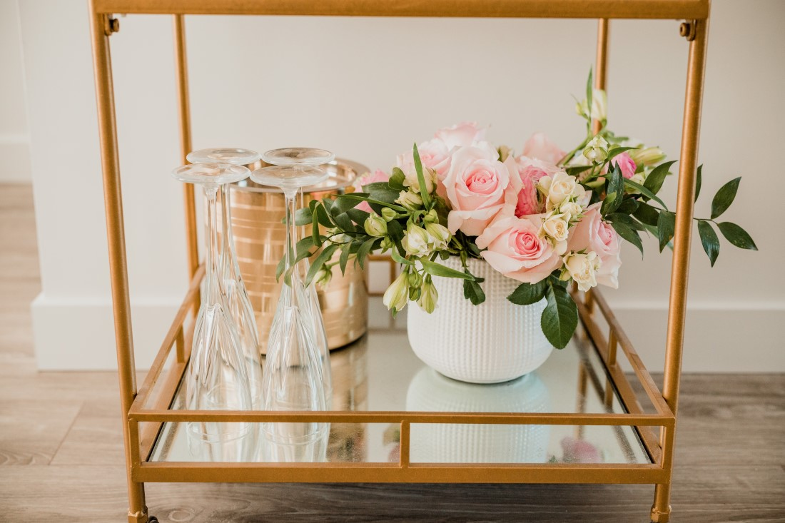 Wine Station for Bridal Shower in Vancouver