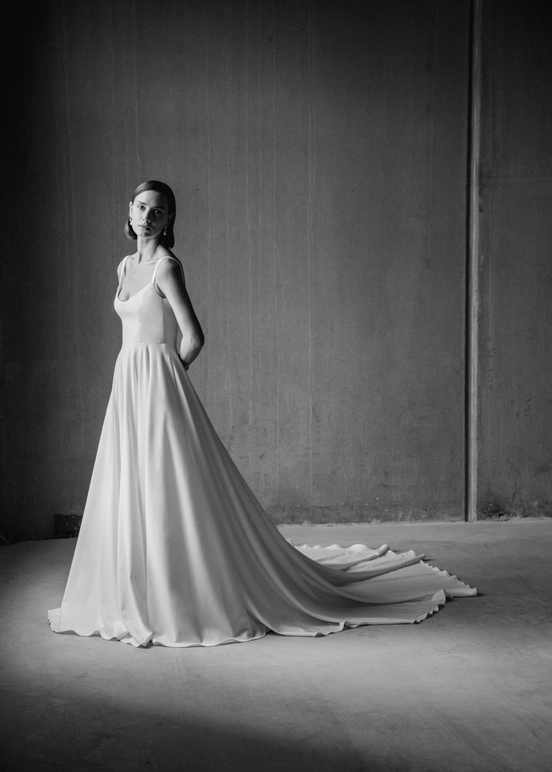 Aesling Minimalist Dress Collection 2021 by Ian Lanterman Photography