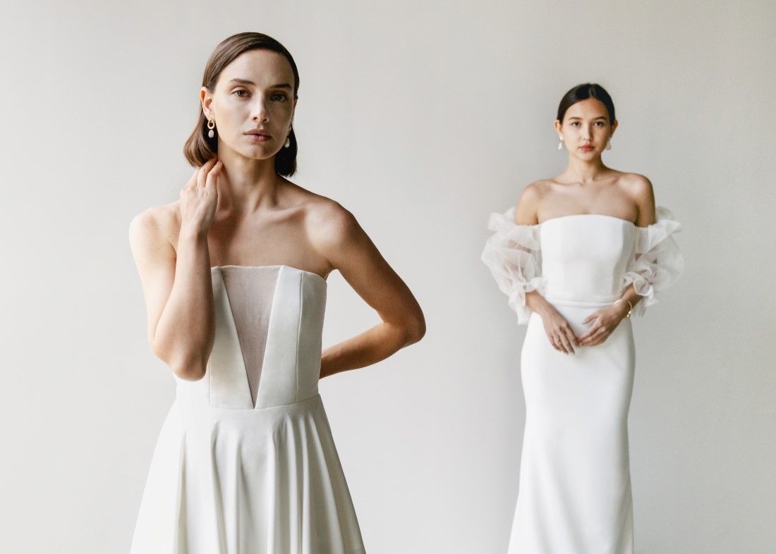 Aesling Minimalist Dress Collection 2021 in Vancouver