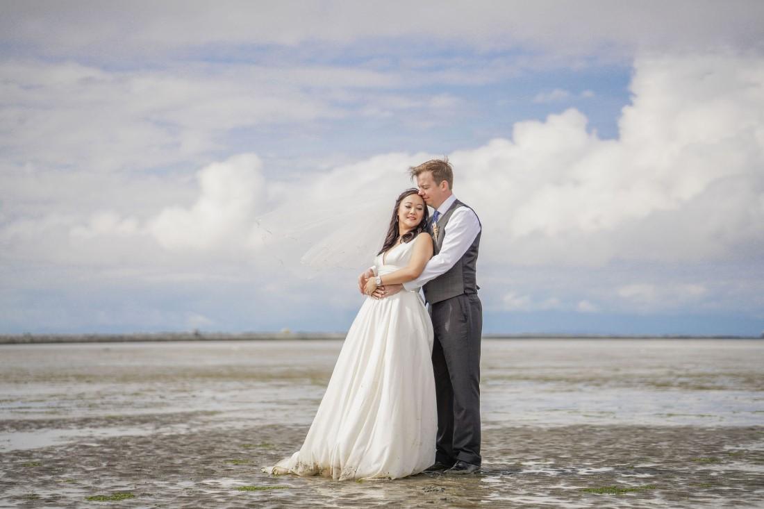 Iona Beach Intimate Wedding by Chuunice Photography