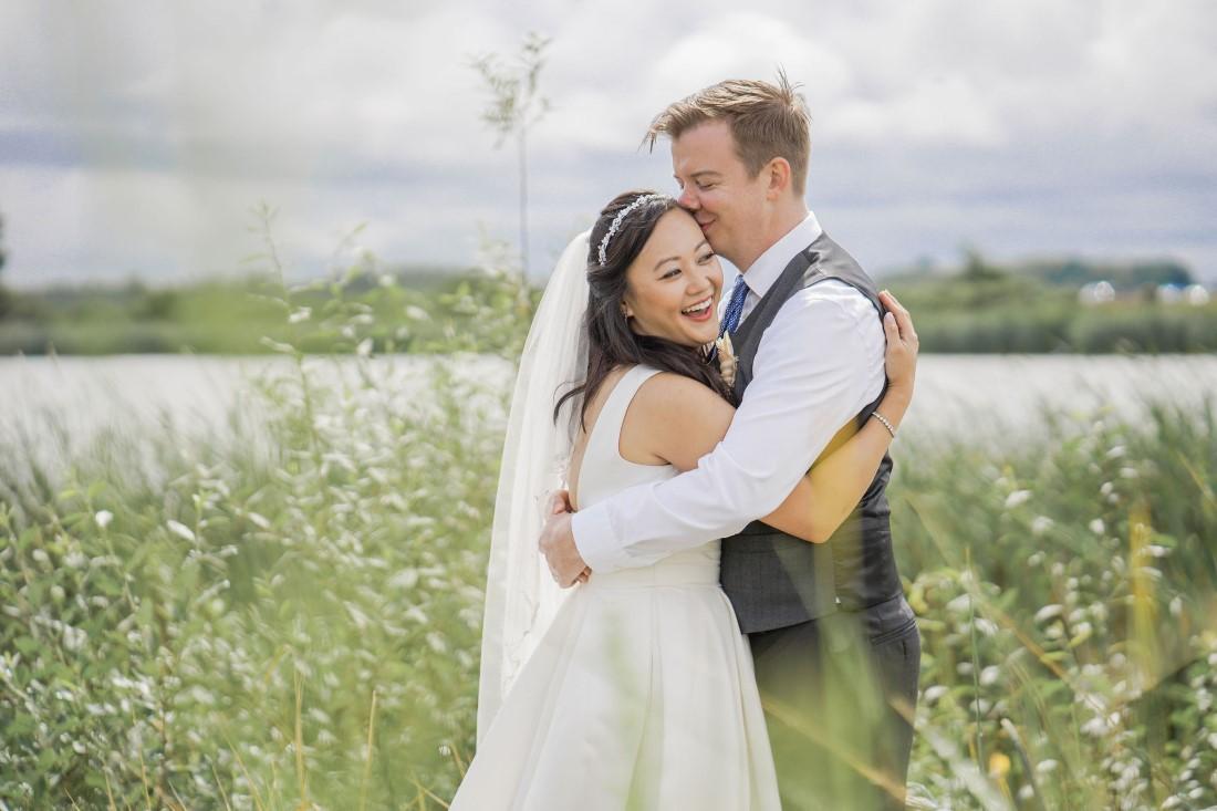 Iona Beach Intimate Wedding Couple by Chuunice Photography