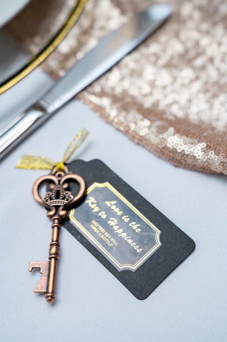Antique Key Wedding Favor by