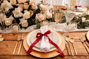 Ellssi Design and Rentals Vancouver wedding table decor