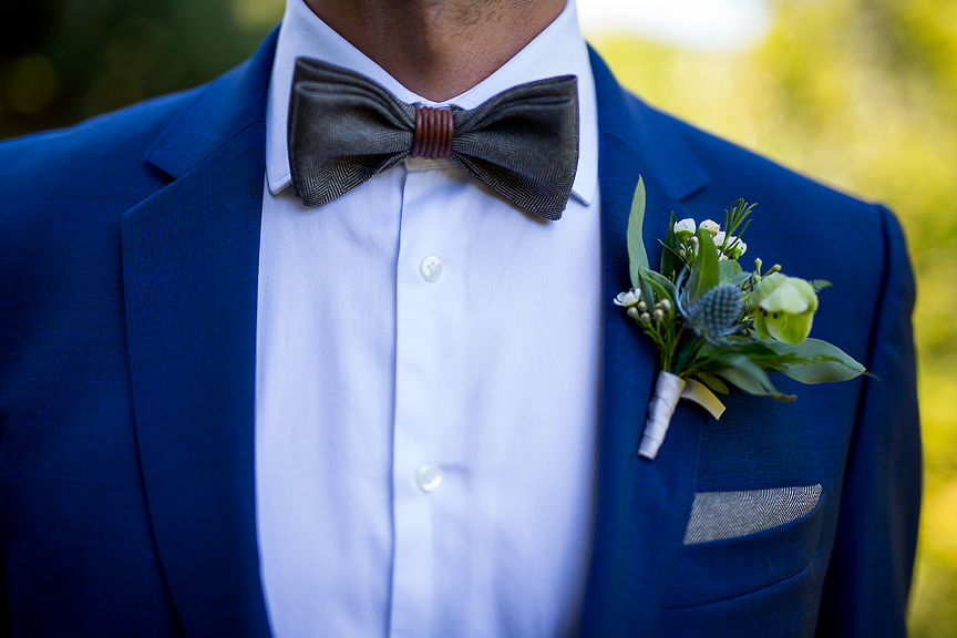 Grooms bouttonierre by Flower Factory Vancouver
