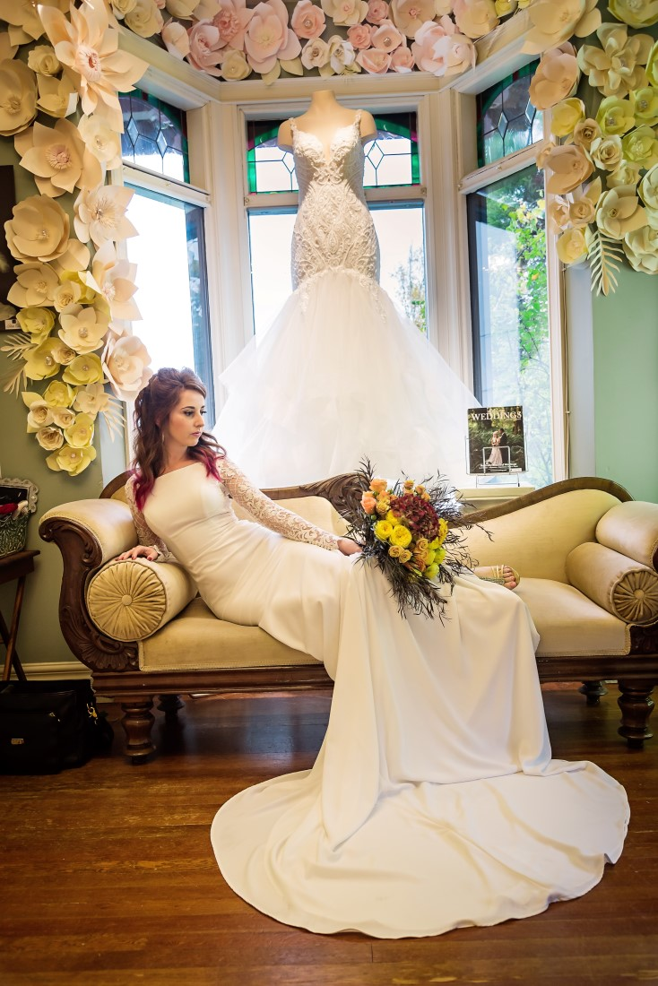 Bridal Fashion and Trends on Film at The Bride's Closet Nanaimo