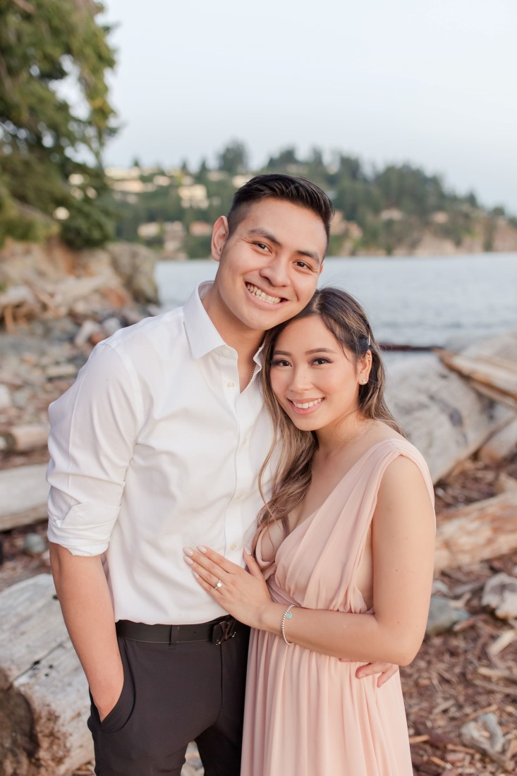 Whytecliff Park Engagement shoot for Elisa and Tom by Vivian Ng