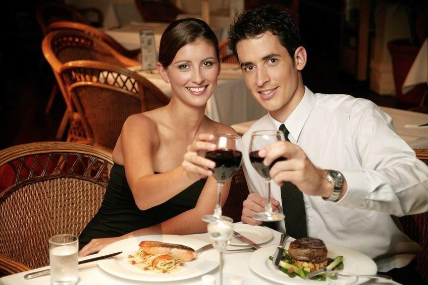 Couple toasts together at Vista Villa Okanagan Valley