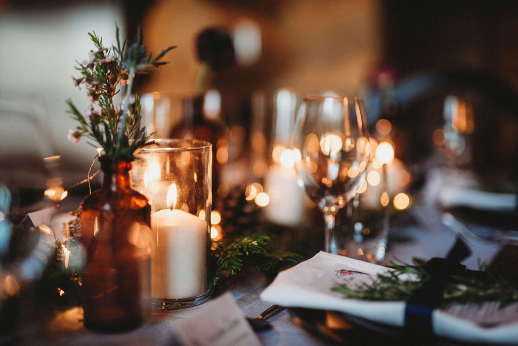 Changing Plans Anastasia Photography Glassware candlelit glow