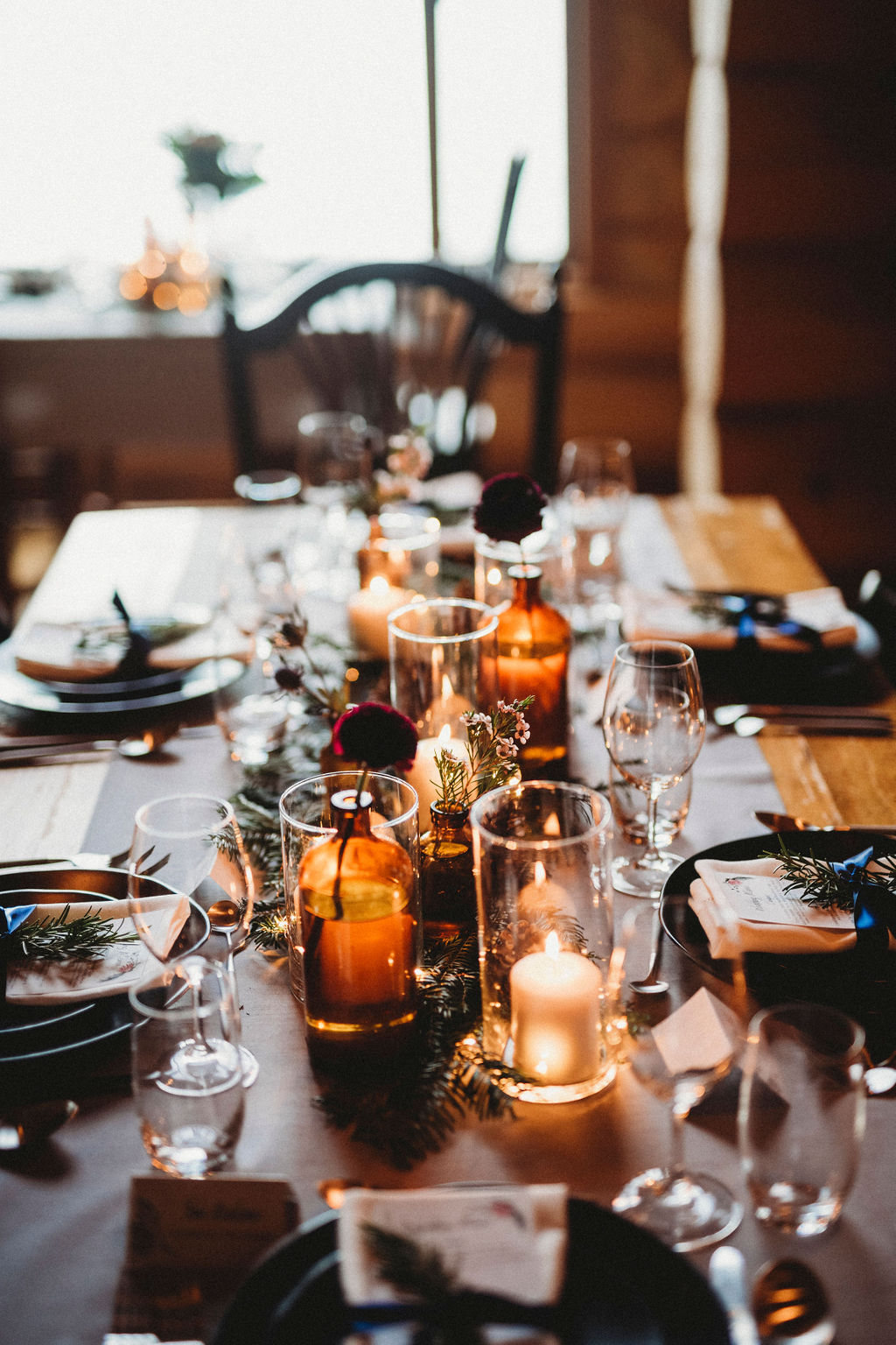 Changing Plans Anastasia Photography candlelit tablescape