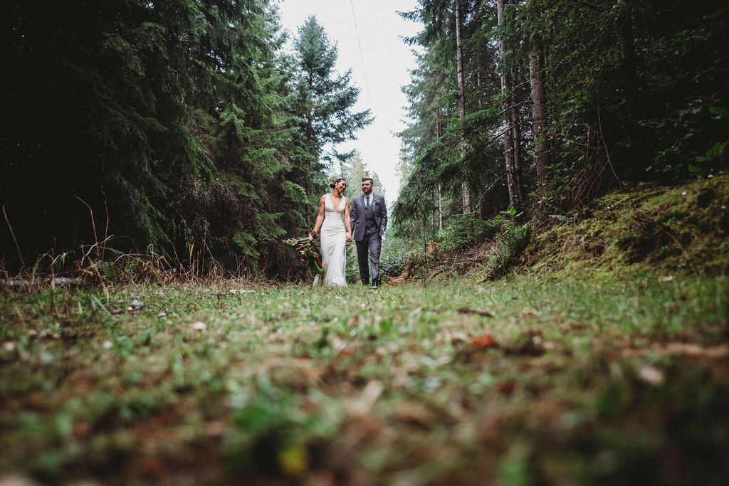 Changing Plans Anastasia Photography couple walking in forest
