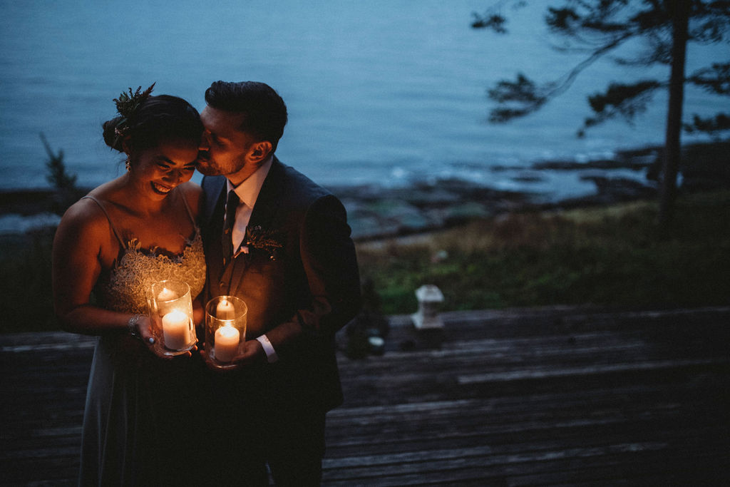 Changing Plans Anastasia Photography couple holding candles