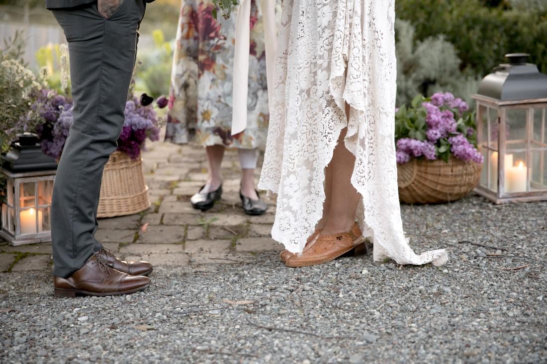 Purple Lilac Spring Wedding Hattie Root Photo feet shots