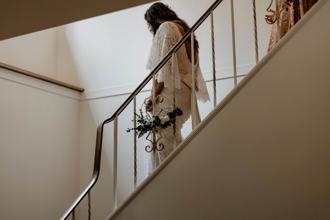 Sophisticated Gallery Kacie McColm Photography bride on her wedding day