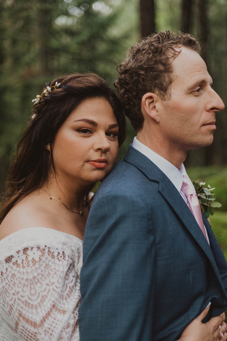 Sophisticated Gallery Kacie McColm Photography closeup of bride and groom