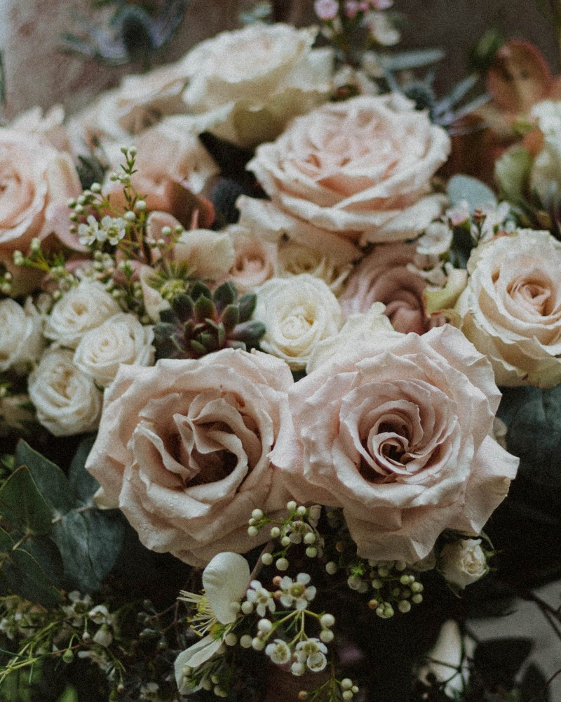 Sophisticated Gallery Kacie McColm Photography bridal bouquet closeup