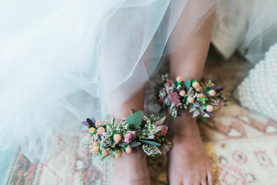 Macramé Boho Simply Sweet Photography anklet florals